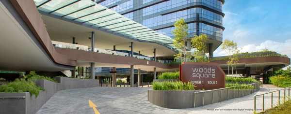 WOODS SQUARE - office for sale